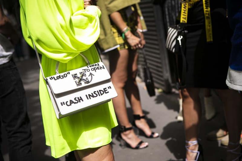Off-White paris pop-up store galeries lafayette fashion week
