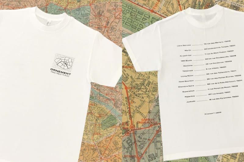 Paris t-shirts custom ornement evenement summer ride