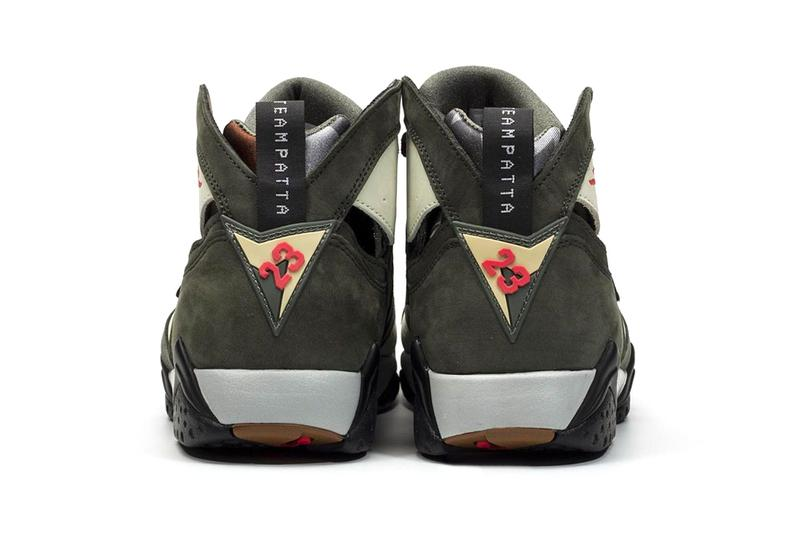 Patta Air Jordan 7 nouveau icicle photos