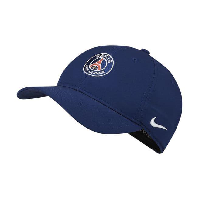 Photo des casquettes PSG