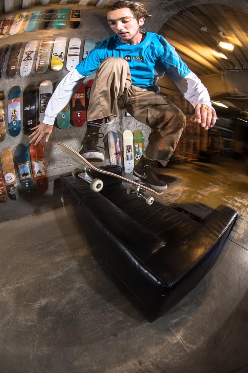 Photo de la collection RAVE Skateboards x RIOT