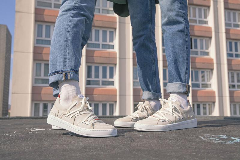 sneakers igwe paris recyclable collection the urban myth lookbook