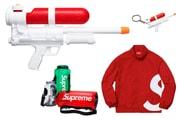 Pistolet à eau, collab avec Castelli... Découvrez la liste et les prix du drop Supreme de la semaine