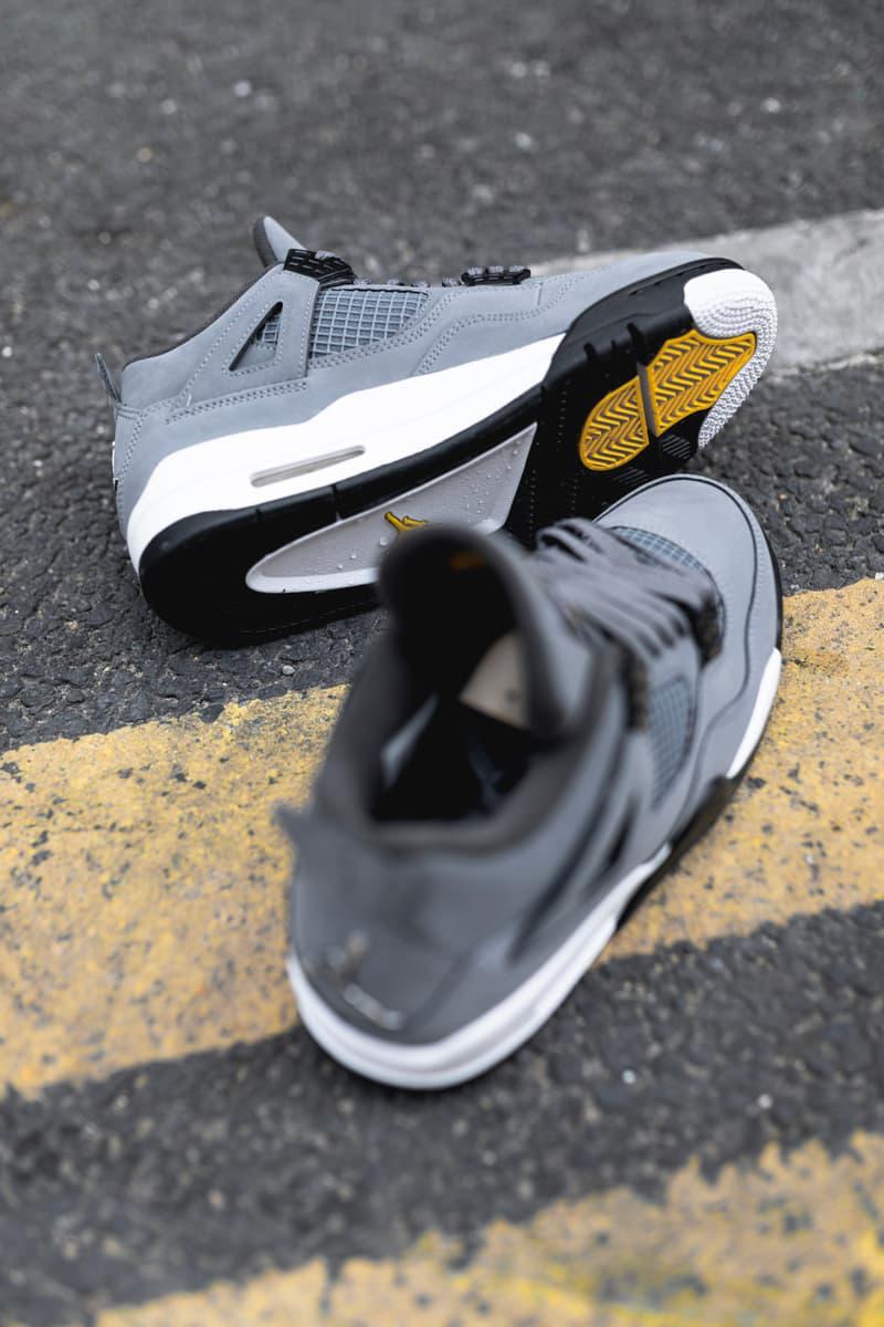 "Photo Air Jordan 4 ""Cool Grey"""