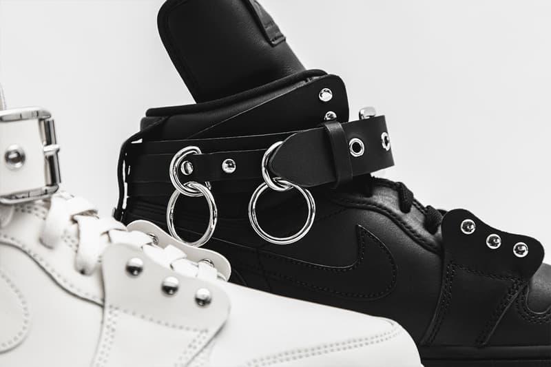 Photo COMME des GARÇONS x Air Jordan 1 Retro High