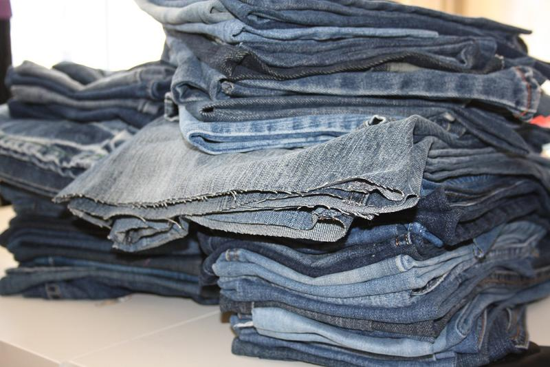 Photo déchets textiles étude