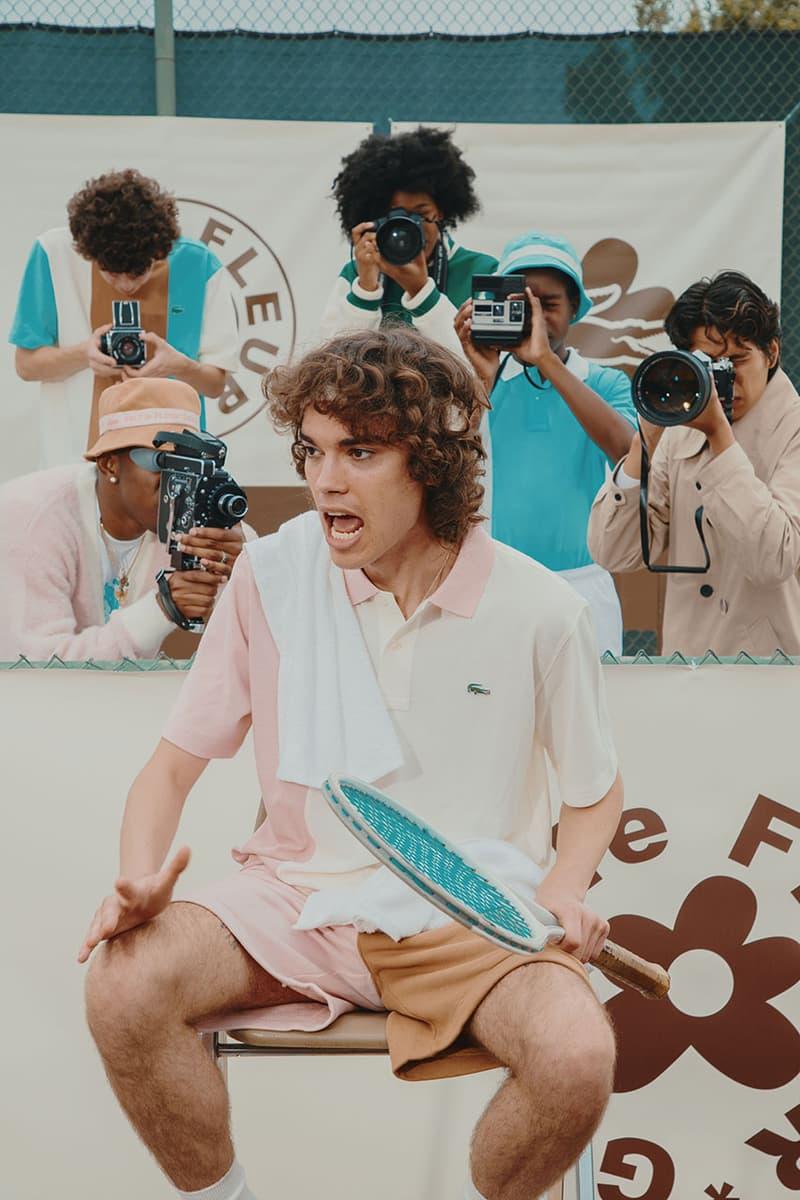 Photo Tyler, The Creator GOLF le FLEUR* x Lacoste