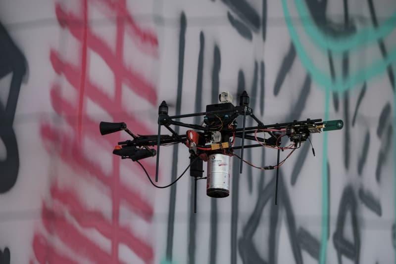Graffiti drones