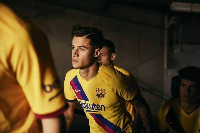 Lookbook du maillot extérieur du FC Barcelone