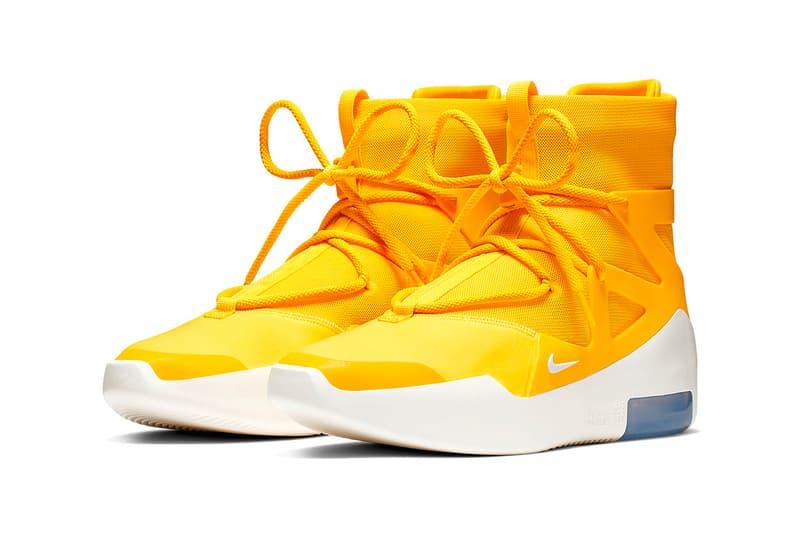 Photo Nike Air Fear of God 1