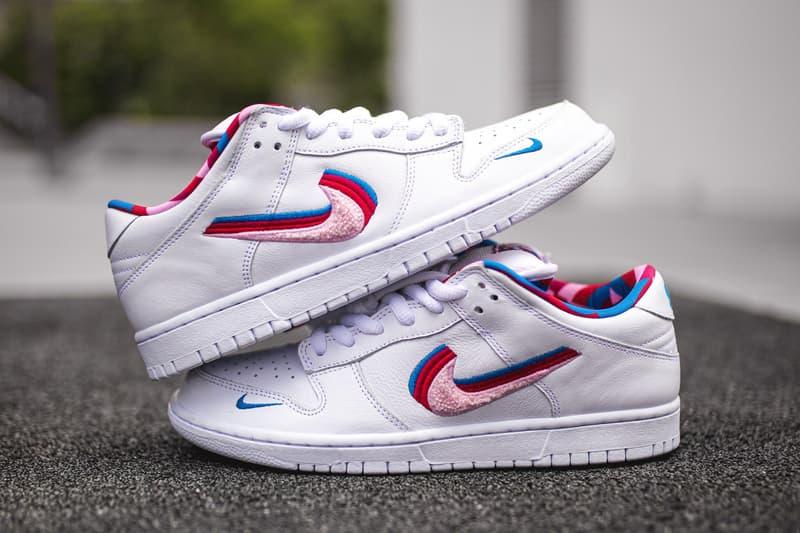 Nike Parra SB Dunk Low sortie