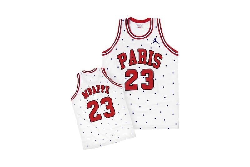 Photo du jersey Jordan x PSG Mbappé