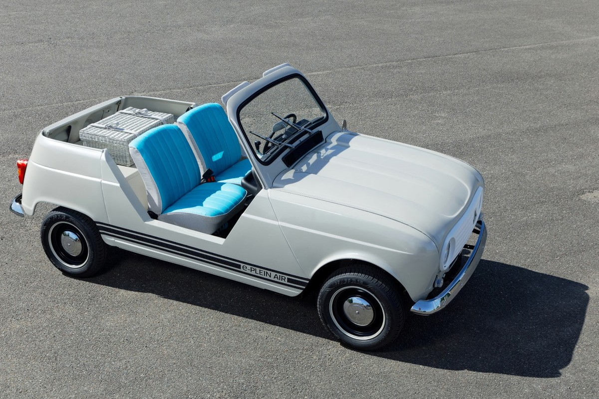 Renault dévoile sa toute première 4L décapotable et électrique