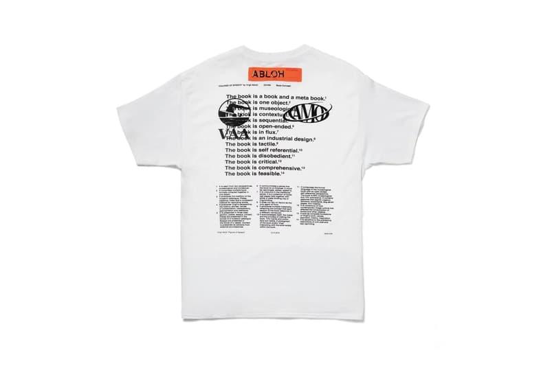 Virgil Abloh t-shirt MCA Pyrex