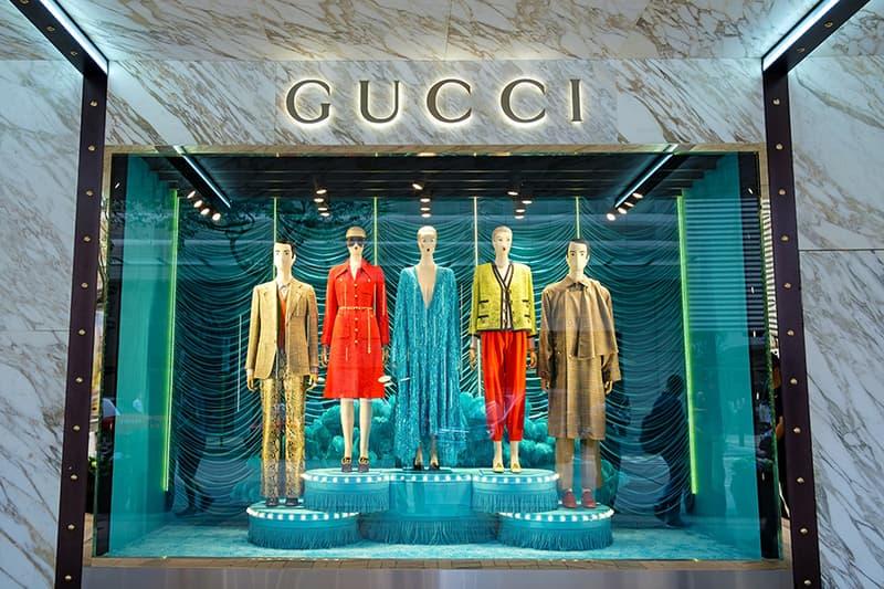 Photo magasin Gucci