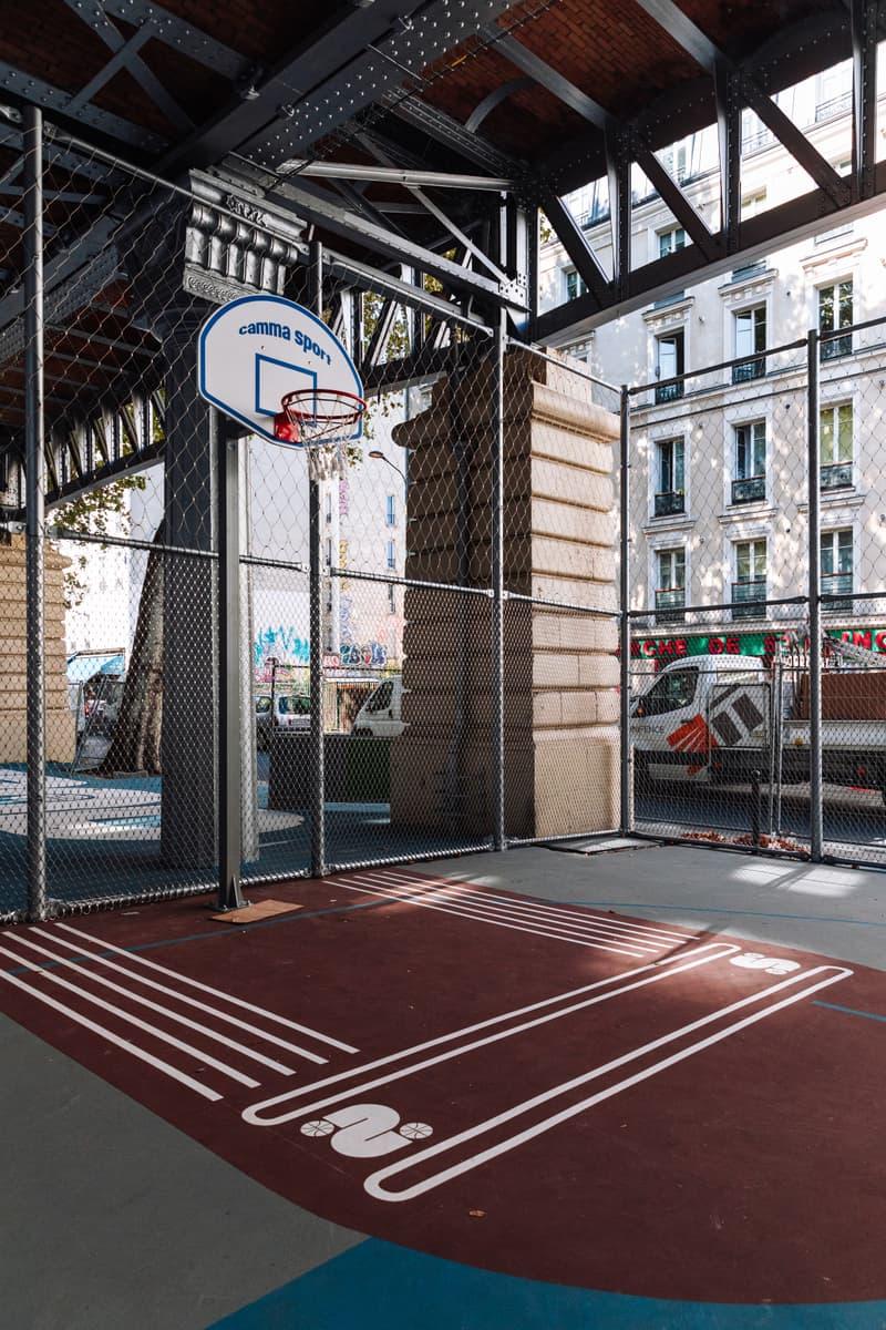 Photos terrains basketball
