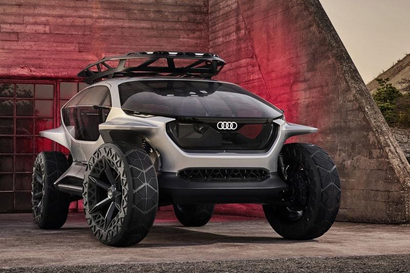 Audi dévoile son AI:Trail, un concept de véhicule tout-terrain