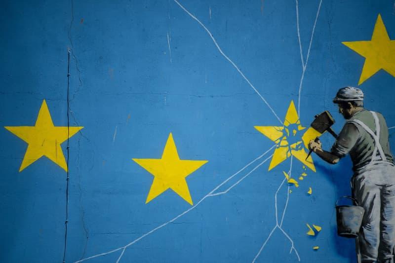 Photo Banksy Brexit