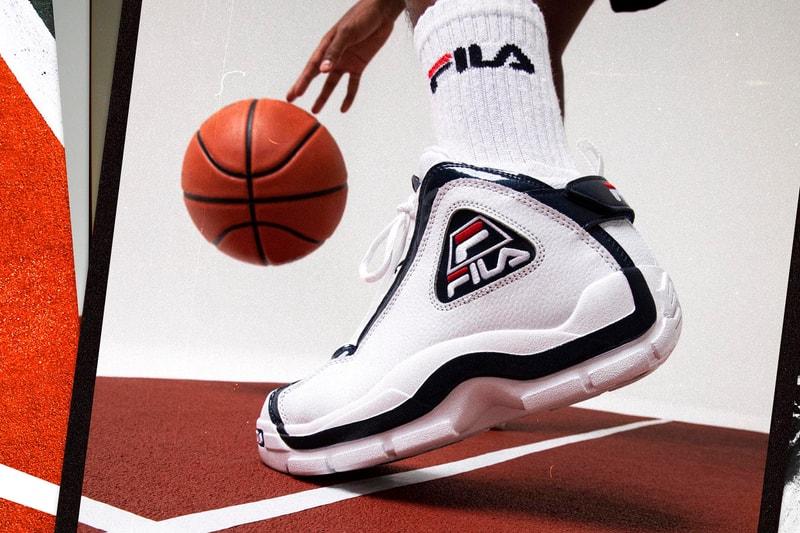 FILA rend hommage à la star de basket Grant Hill avec sa nouvelle sneaker