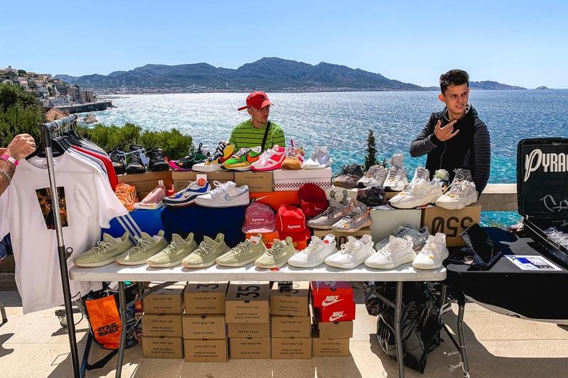 Les débuts prometteurs du Sneakers Market à Marseille