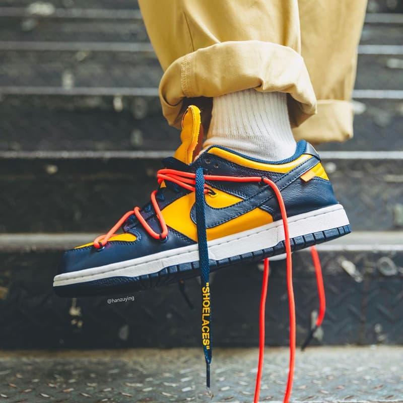 Photo Off-White™ x Nike SB Dunk Low