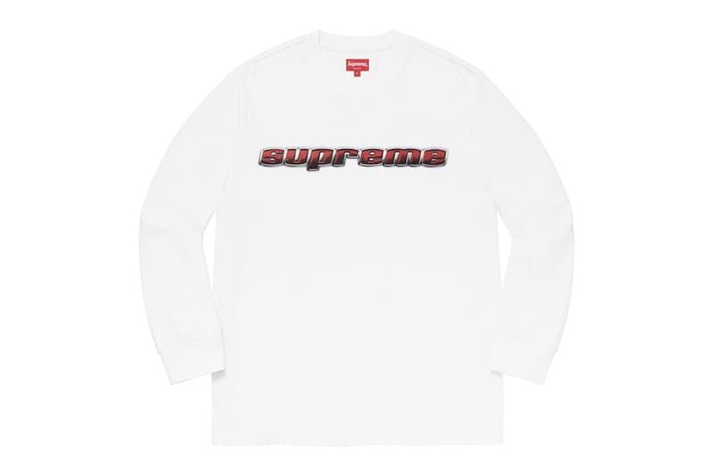 Photo Supreme drop semaine