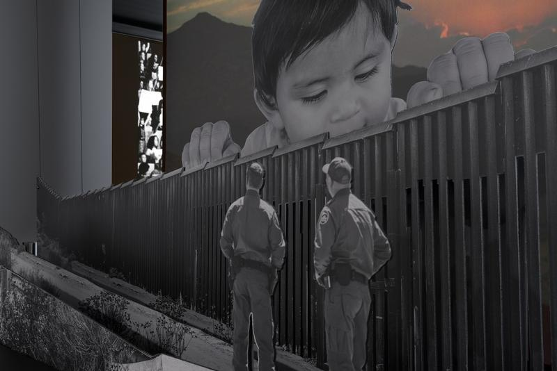 Photos JR exposition Brooklyn