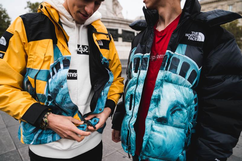 Photos Supreme x The North Face