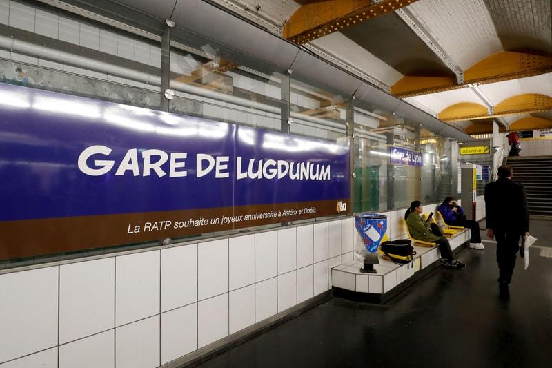 La RATP renomme ses stations de métro pour l'anniversaire d'Astérix et Obélix