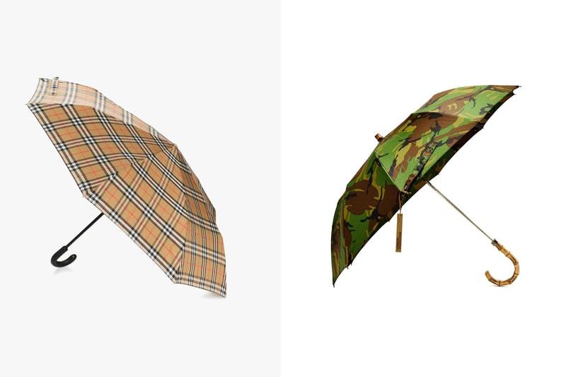 Burberry, Versace... Dix parapluies à shopper pour l'automne