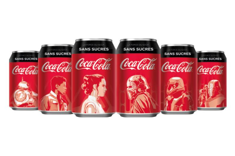 Photos Canettes Coca-Cola x Star Wars