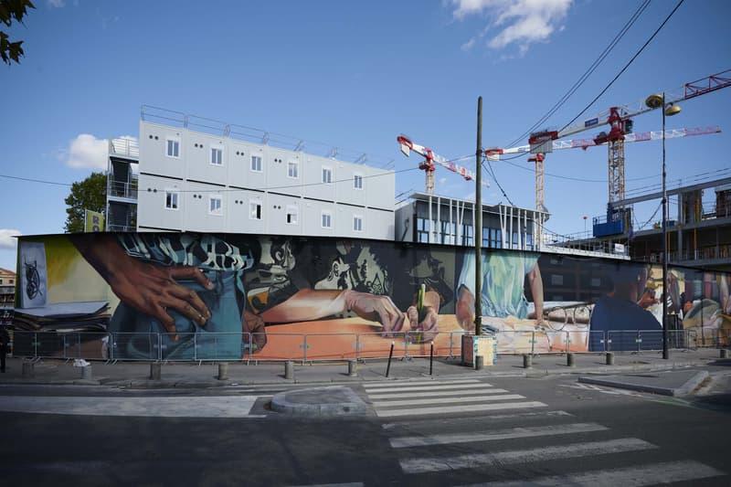 Chanel Métiers d'Art paris fresque case maclaim