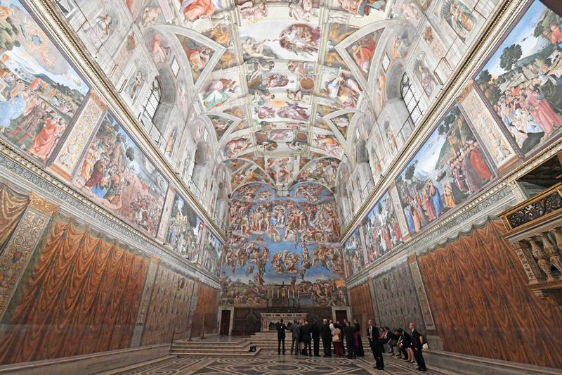 Photos CHapelle Sixtine Vatican