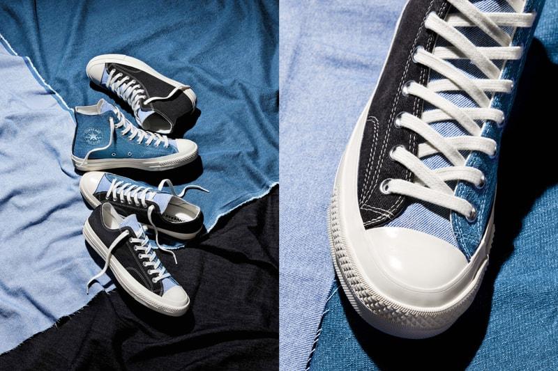Converse s'associe à un spécialiste de la mode durable et dévoile trois nouvelles Chuck Taylor en jean recyclé