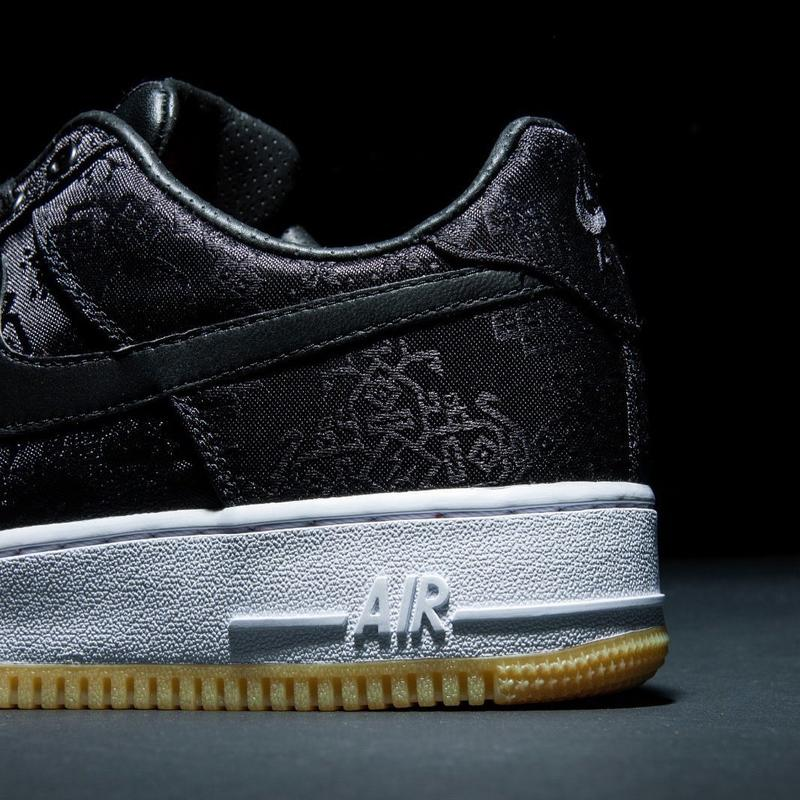 Nike Air Force 1 CLOT Fragment design
