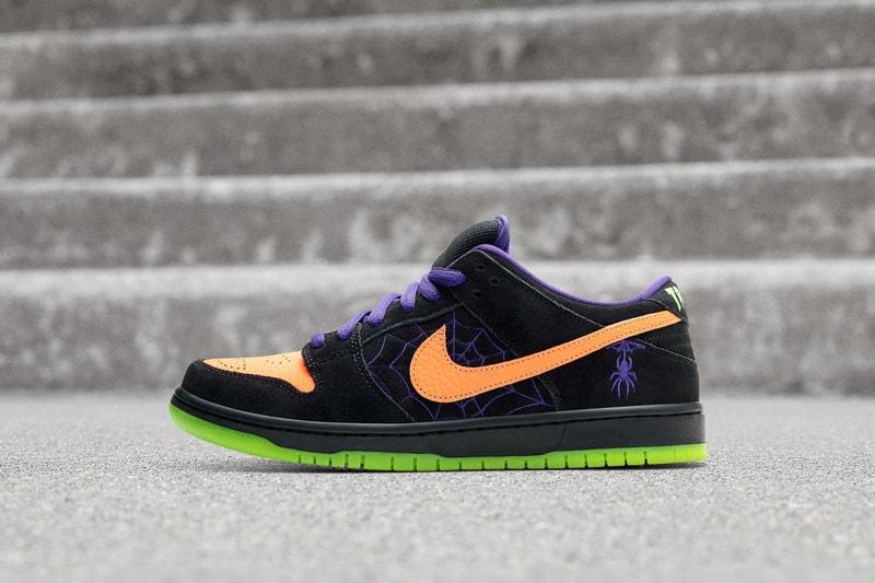 Nike dévoile une SB Dunk édition limitée pour Halloween