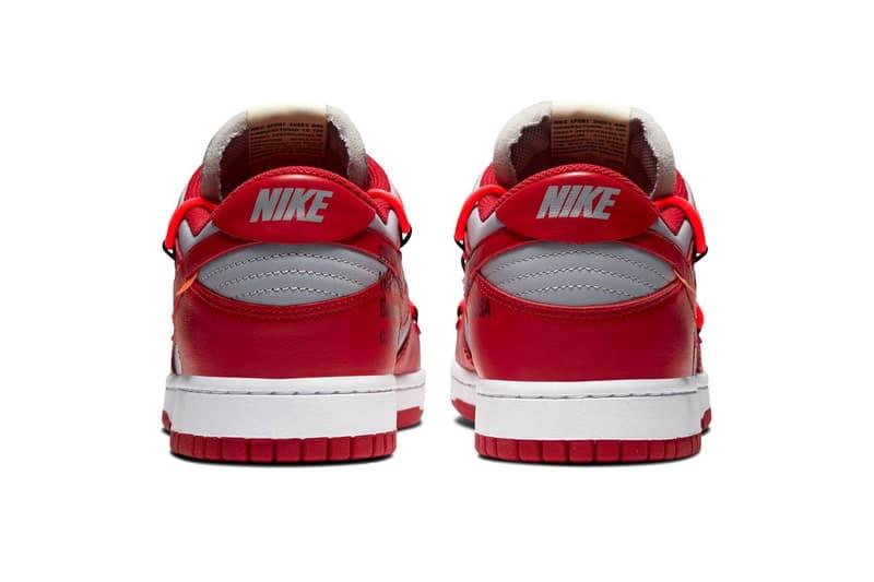Photo Off-White™ x Nike Dunk Low