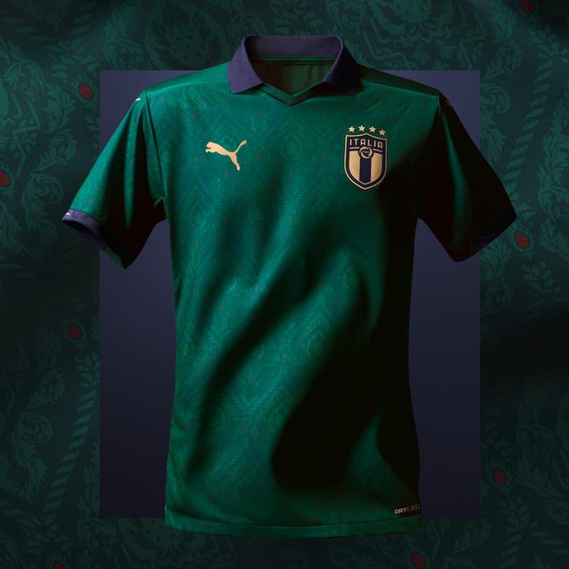 Photo maillot Italie vert 2019