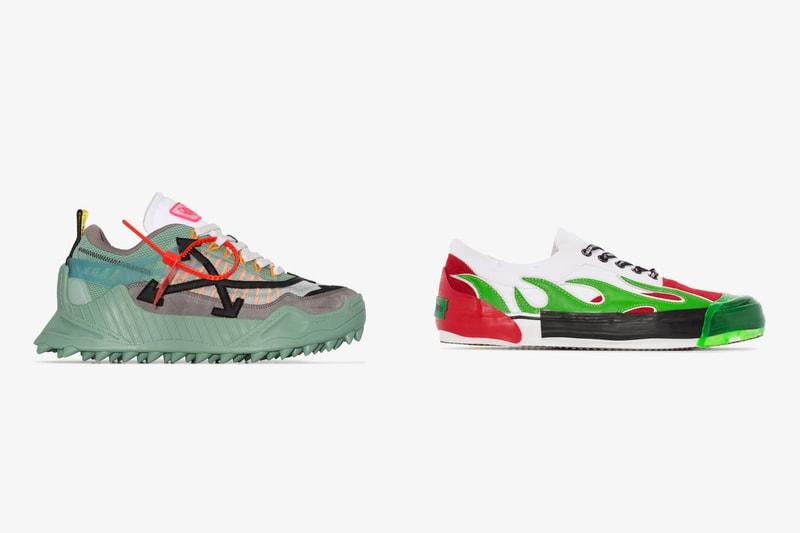 Versace, Off-White™, Burberry... La sélection sneakers de Brownsfashion pour octobre