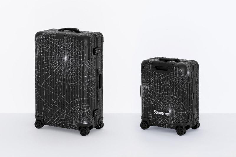 Supreme collabore avec RIMOWA autour de deux nouvelles valises