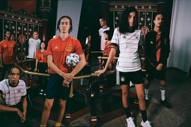 adidas dévoile les maillots domicile de l'Espagne, l'Allemagne ou encore de la Russie pour l'Euro 2020