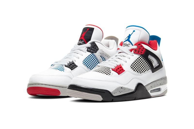 """Quatre coloris iconiques réunis pour la nouvelle Air Jordan 4 """"What The"""""""