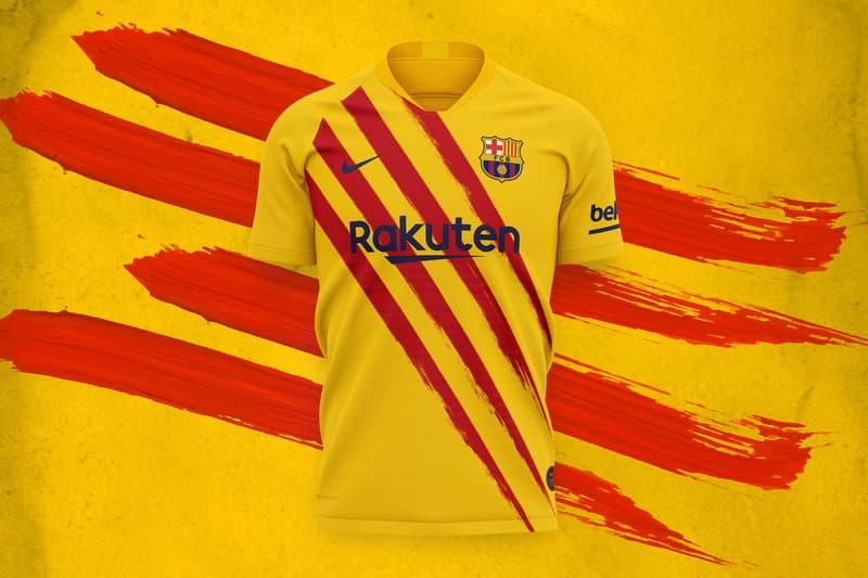 Barcelone Nike quatrième maillot