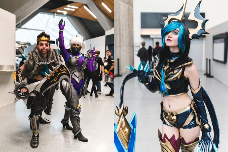 Les plus beaux cosplays aperçus lors de la finale de League of Legends à Paris