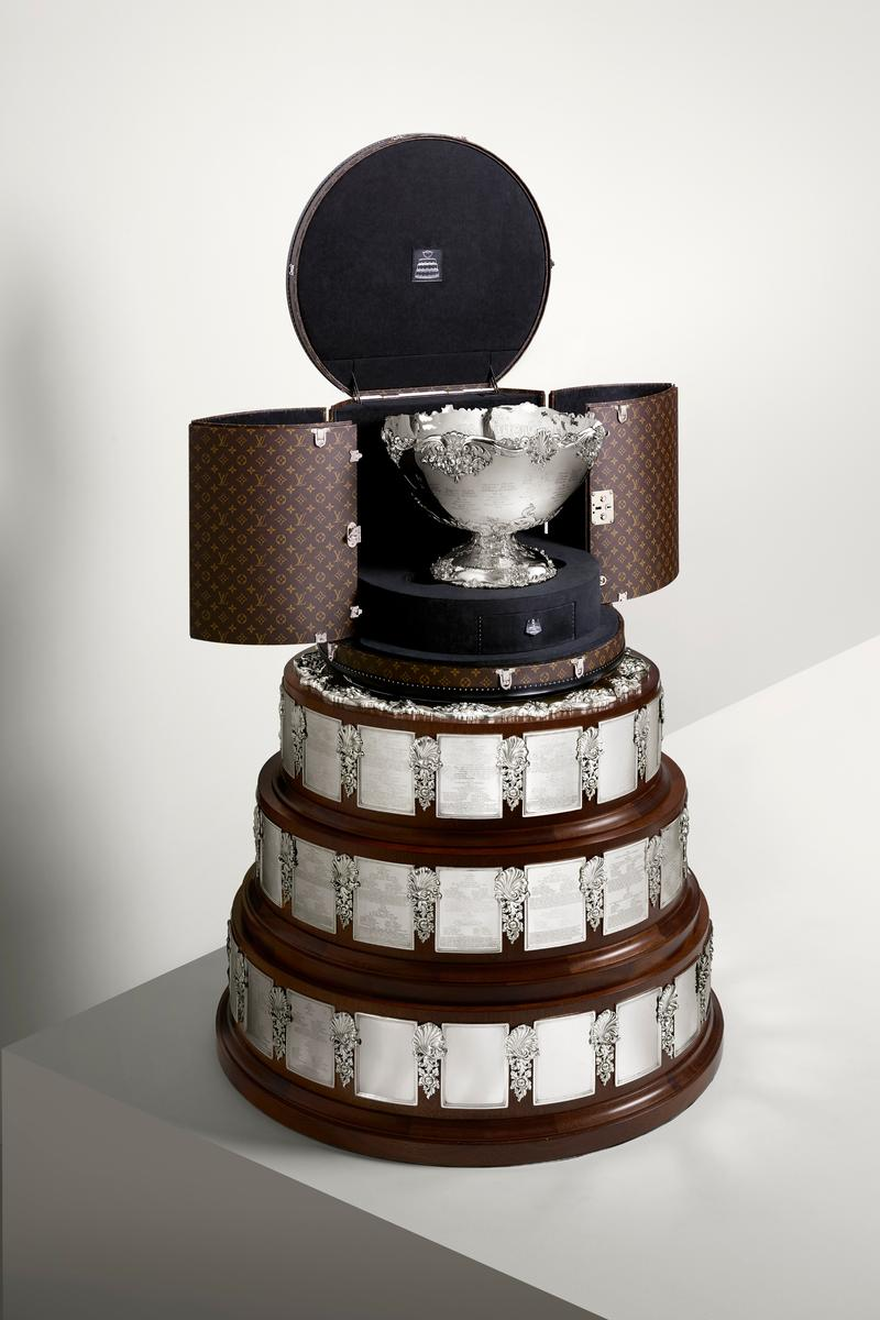 Louis Vuitton Coupe Davis trophée