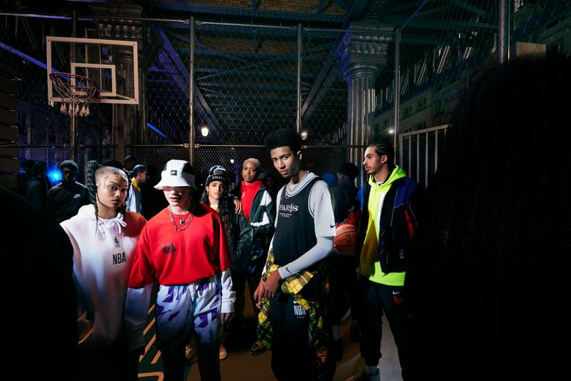Photo Nike Basketball NBA Paris Collection