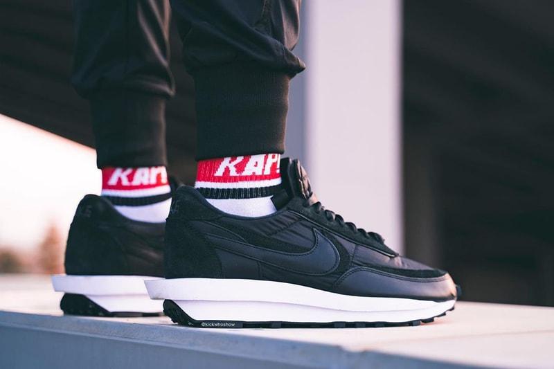 Un aperçu on feet et un coloris inédit pour les nouvelles sacai x Nike LDWaffle