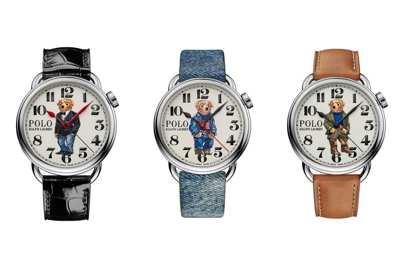 Ralph Lauren vient de dropper trois nouvelles versions de son emblématique montre Polo Bear