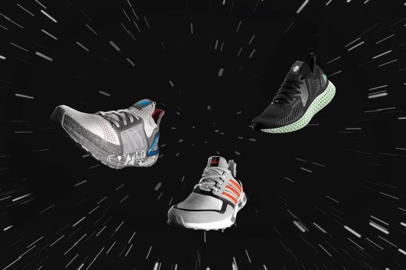 adidas dévoile un pack de sneaker Star Wars inspiré des vaisseaux spatiaux emblématiques de la saga