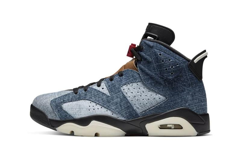 photos Air Jordan 6 'Washed Denim'